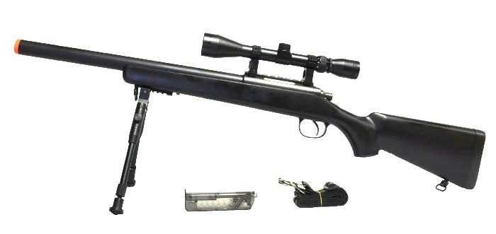 Well-VSR-10-Spring-Airsoft-Sniper-Rifle