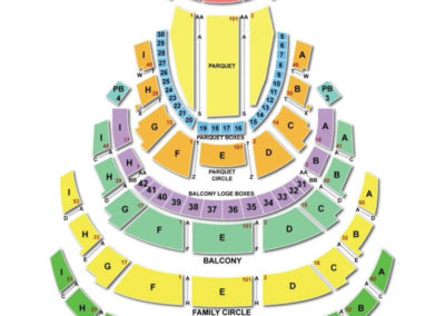Academy of Music Philadelphia Seating Chart 2