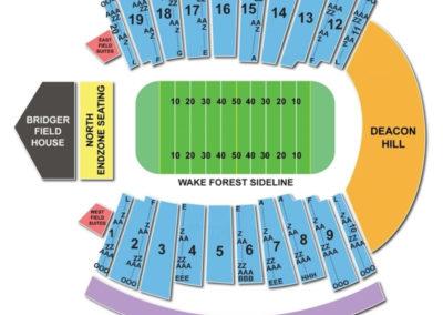 BB&T Field Seating Chart (Winston-Salem)
