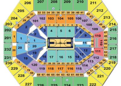 Bankers Life Fieldhouse Basketball Seating Chart