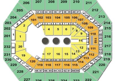 Bankers Life Fieldhouse Circus Seating Chart