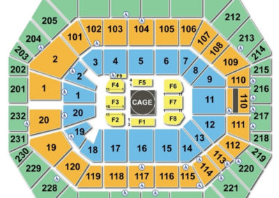 Bankers Life Fieldhouse UFC Seating Chart