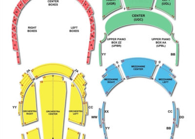 Bass Performance Hall Fort Worth Seating Chart