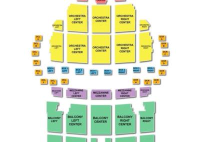 Boch Center - Wang Theatre Seating Chart