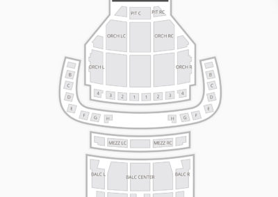 Boch Center Wang Theatre Seating Chart Concert