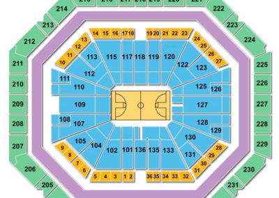 Bud Walton Arena Seating Chart - Fayetteville