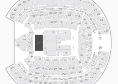 CenturyLink Field Concert Seating Chart