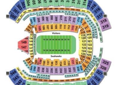 Centurylink Field Football Seating Chart