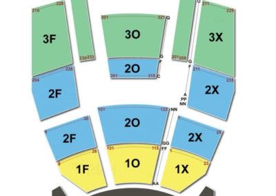 Fox Theater at Foxwoods Resort Casino Seating Chart