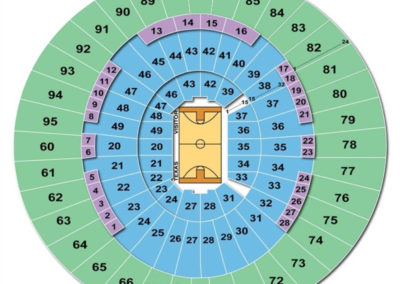 Frank Erwin Center Seating Chart Basketball