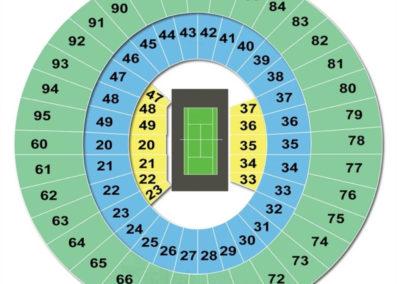 Frank Erwin Center Seating Chart Tennis