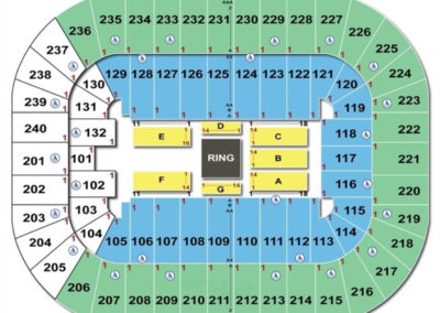 Greensboro Coliseum Complex WWE Seating Chart
