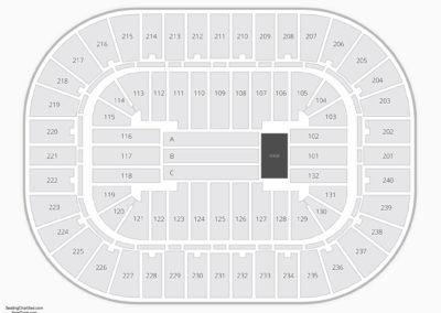 Greensboro Coliseum Seating Chart Concert