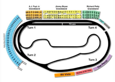ISM Raceway Seating Chart