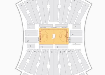 Indiana Hoosiers Basketball Seating Chart