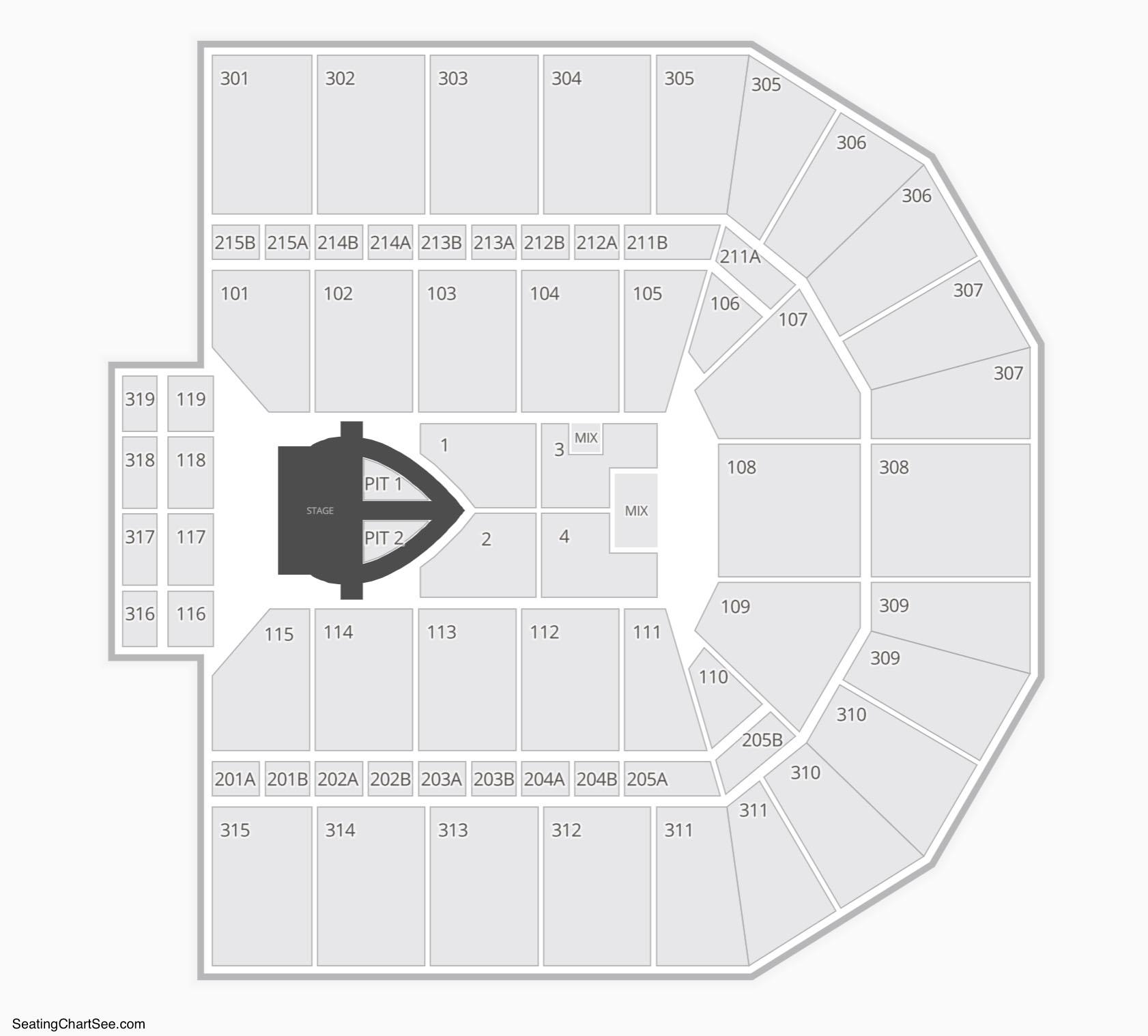 John Paul Jones Arena Seating Chart - JPJ Arena