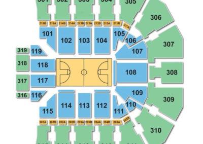 John-Paul-Jones-Arena-Seating-Chart-Basketball - JPJ Arena