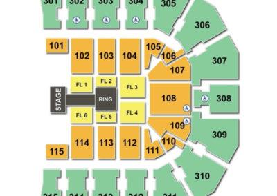 John Paul Jones Arena Seating Chart WWE - JPJ Arena