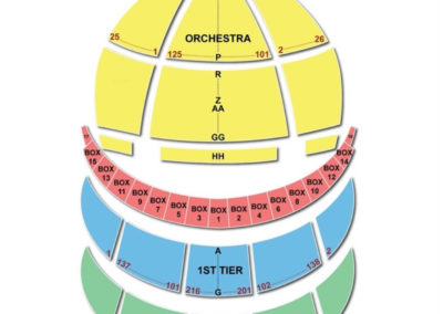 Kennedy Center Opera House Seating Chart