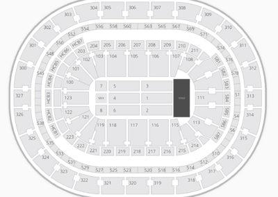 KeyBank Center Concert Seating Chart