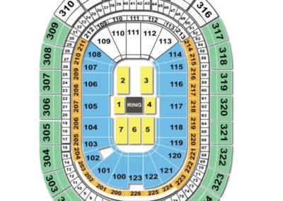 KeyBank Center Seating Chart wwe