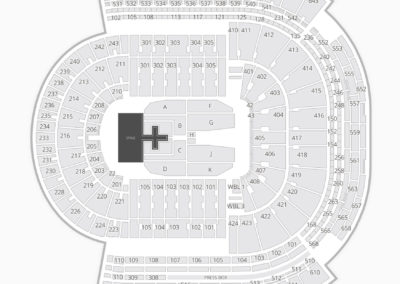LSU Tiger Stadium Concert Seating Chart