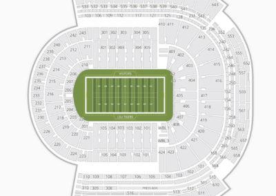 LSU Tigers Football Seating Chart