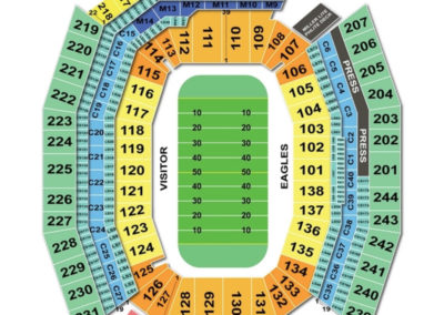 Lincoln Football Field Seating Chart