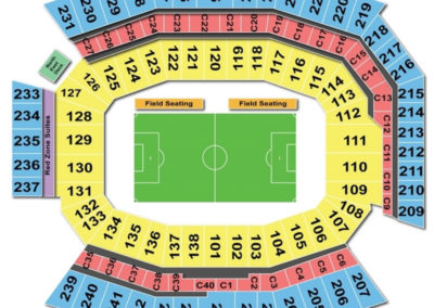 Lincoln Soccer Field Seating Chart