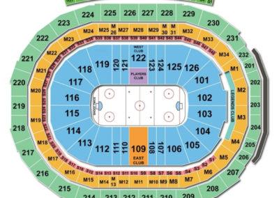Little Caesars Arena Hockey Seating Chart