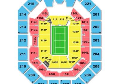 Matthew Knight Arena Seating Chart Tennis