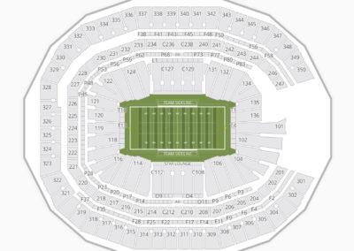 Mercedes-Benz Stadium Seating Chart NCAA Football