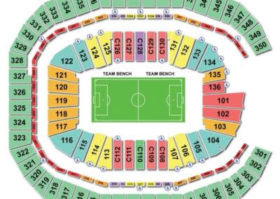 Mercedes-Benz Stadium Soccer Seating Chart