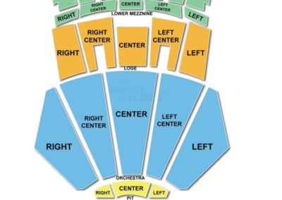 Microsoft Theater Boxing Seating Chart