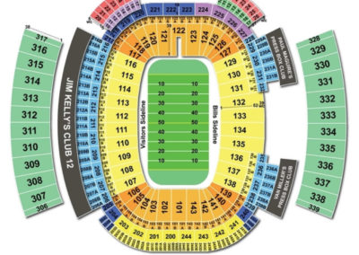 New Era Field Seating Chart Football