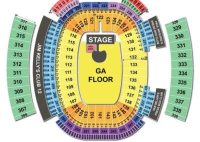 New Era Field Seating Chart U2