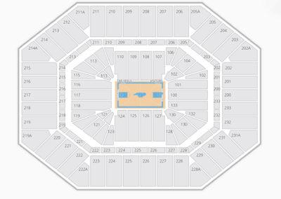 North Carolina Tar Heels Basketball Seating Chart
