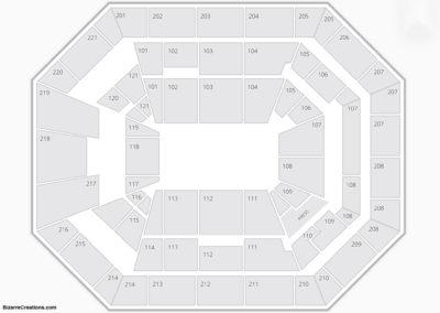Oregon Ducks Seating Chart