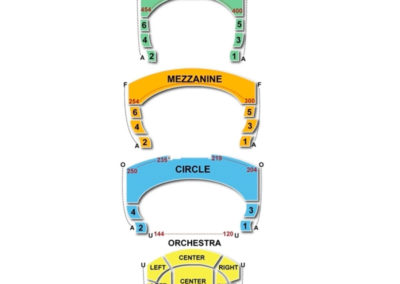 Overture Center - Orchestra RLC Seating Chart