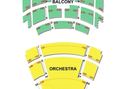 Overture Center Seating Chart -Capitol Theater