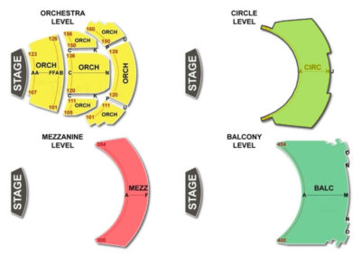 Overture Center Seating Chart - Overture Hall