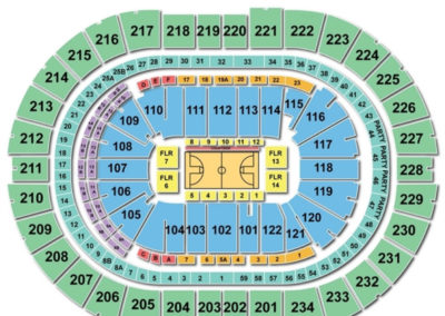 PPG Paints Arena Basketball Seating Chart