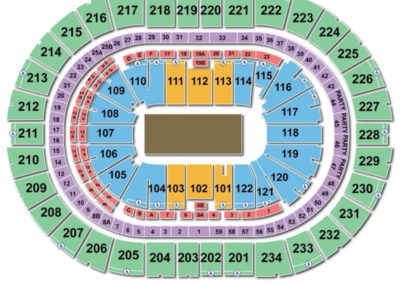 PPG Paints Arena Circus Seating Chart