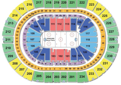 PPG Paints Arena Hockey Seating Chart