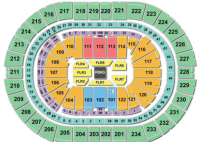 PPG Paints Arena Seating Chart wwe