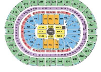 PPG Paints Arena UFC Seating Chart