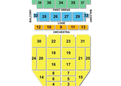 Palace Concert Theater Seating Chart