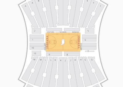 Simon Skjodt Assembly Hall Seating Chart NCAA Football