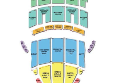 Playhouse Square Seating Chart