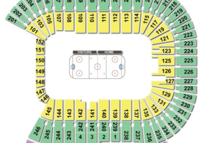 TCF Bank Stadium Seating Chart Hockey